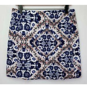 NWT Joe Fresh Floral Skirt  Pockets Sz 16